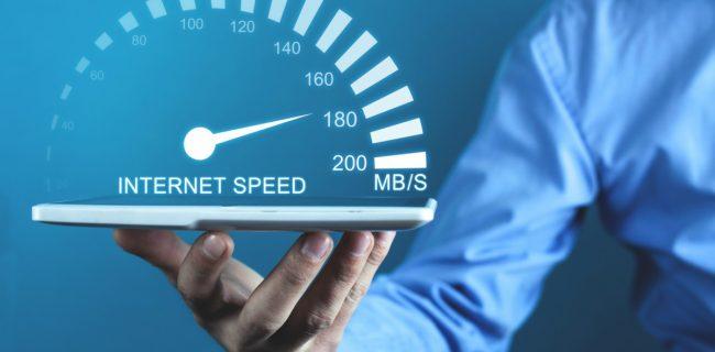 سرعت جهانی اینترنت در ماه جاری رشد کرد