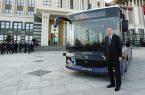 اولین اتوبوس برقی خودران در ترکیه رونمایی شد