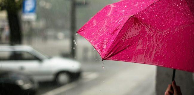 بارش باران تابستانی در تهران و ۱۶ استان دیگر