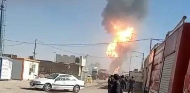 قدردانی والی هرات از آتشنشانان ایران