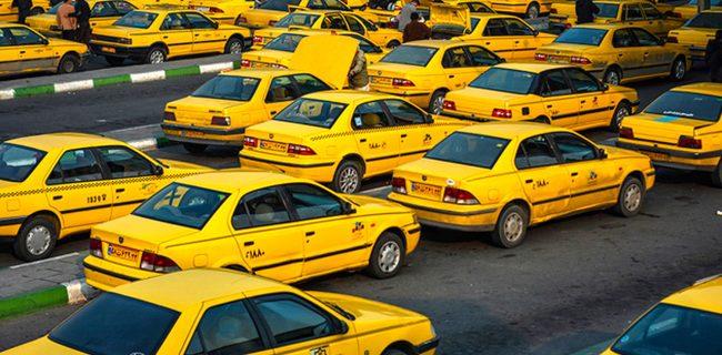 آغاز واکسیناسیون رانندگان تاکسی در کرج
