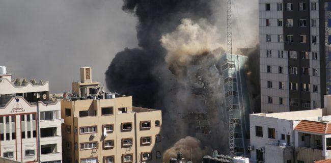بمباران دفاتر رسانهها؛ حمله به حماس یا آزادی مطبوعات