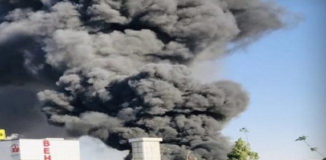 آخرین خبرها از آتش سوزی شرکت بهنوش