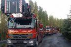 توسعه ایستگاههای آتش نشانی تهران تا سال ۱۴۰۲