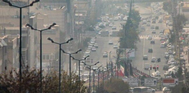 افزایش آلایندهها در کلانشهر البرز